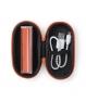 Power Bank Classic 2200 mAh + Cable USB + Estuche Polipiel a Juego