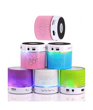 MINI ALTAVOZ BLUETOOTH CON LUZ LED Y USB