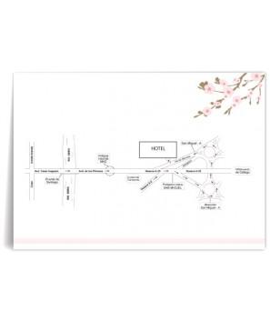 Mapa de boda