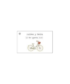 Tarjetas personalizadas Bicicleta