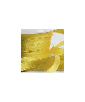 Lazo de satén oro viejo 25 metros-6mm