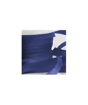 Lazo de satén azul marino 25 metros-6mm