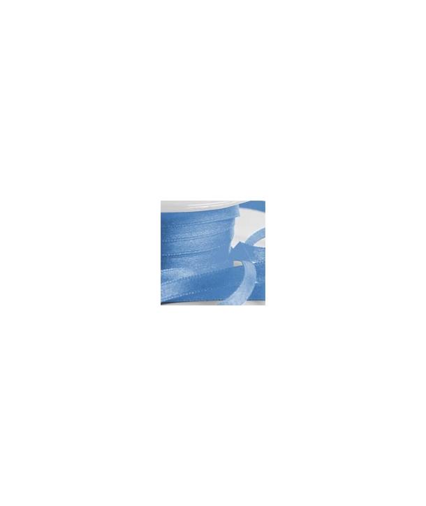 Lazo de satén azul 25 metros-6mm