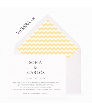 Chevron Amarillo