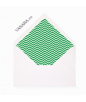 Chevron Verde Green