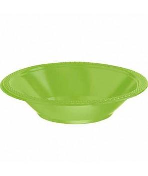 Boles de plástico Verde Kiwi (20 uds.)