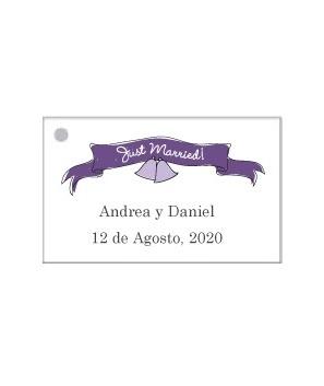 Tarjetas personalizadas Just Married
