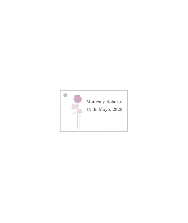 Tarjetas personalizadas Flores Rosas