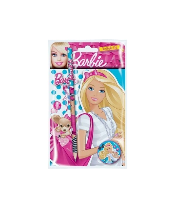 Servilletas de fiesta Barbie (pack 16 uds).