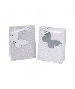 Bolsas para dulces con mariposa (10 uds.)