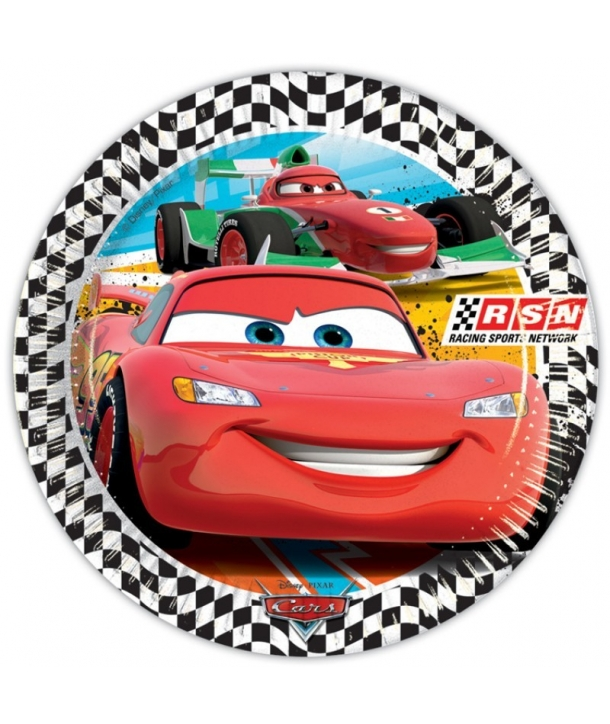 Platos Disney Cars