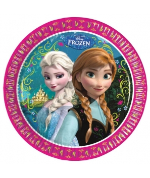 Platos Frozen de Disney