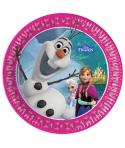 Platos Olaf de Disney