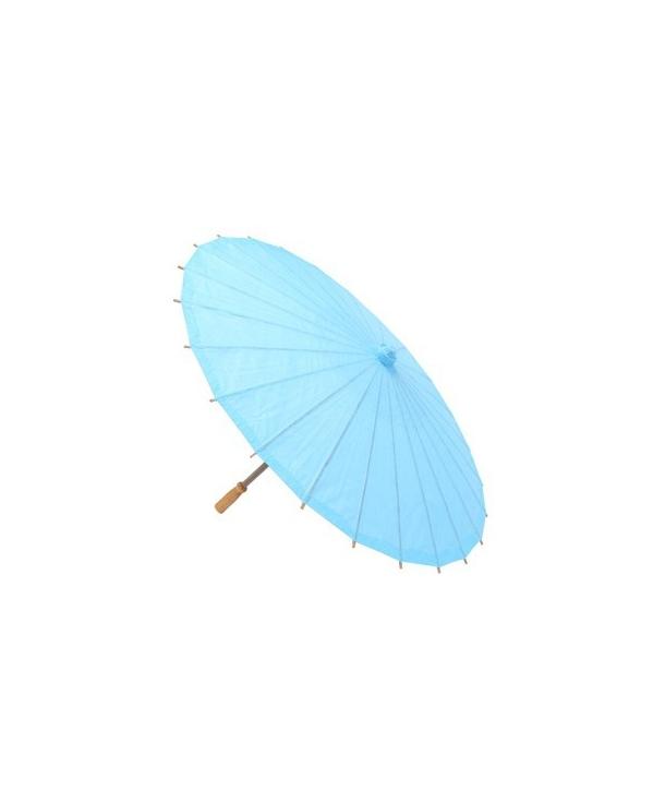 Parasoles azules