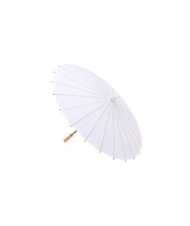 Parasoles blancos