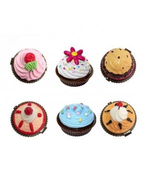 Bálsamos de labios en forma de pastelitos cupcake detalles bodas