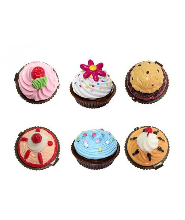 Bálsamos de labios en forma de pastelitos cupcake