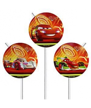 Pajitas Disney Cars