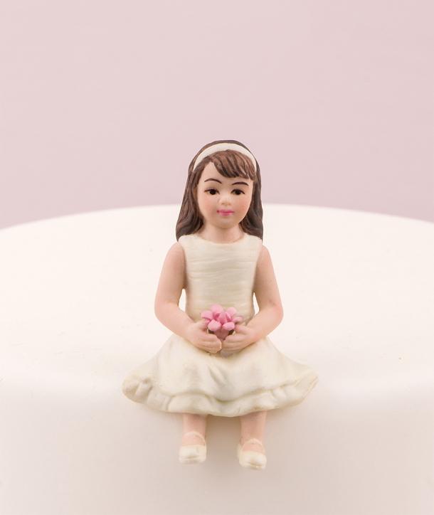 Niña pequeña para tarta