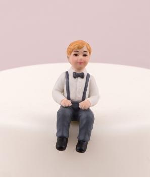 Niño pequeño para tarta
