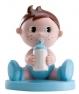 Figura niño bautizo biberón