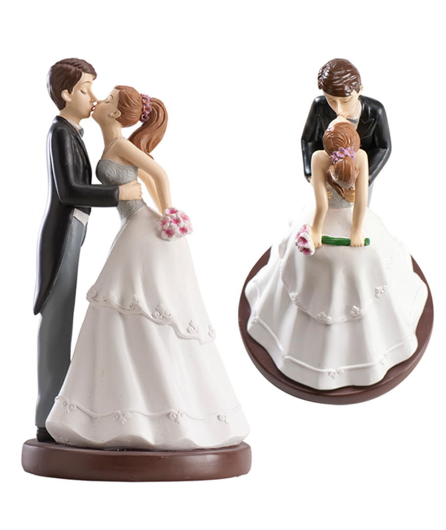 figura para pastel beso de novios