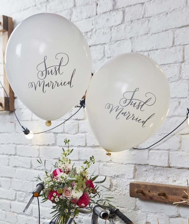 Globos boho Just Married