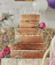Topper Just Married de madera