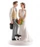 Figura para pastel de boda Fútbol