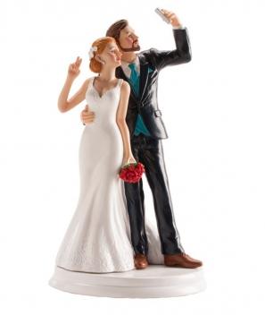 Pareja de boda Selfie