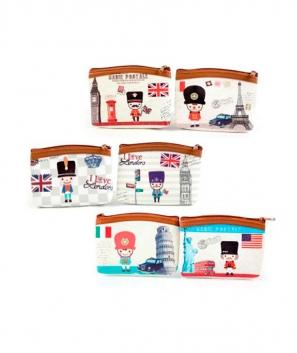 Monedero British Style