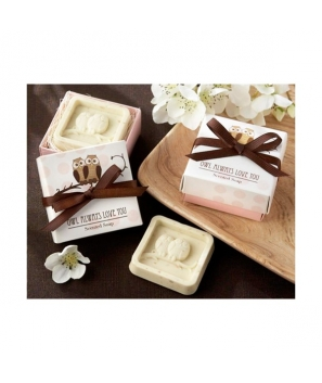 Jabón Aromático BUHOS en caja de regalo