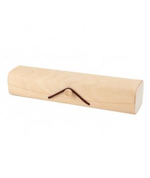 Estuche de Bambú Kraft Circular