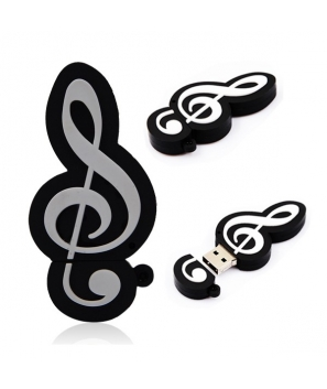 Memoria USB Nota Musical 4GB