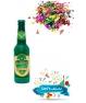 Cañon Espirales Confeti En Forma de Botella de Champagne
