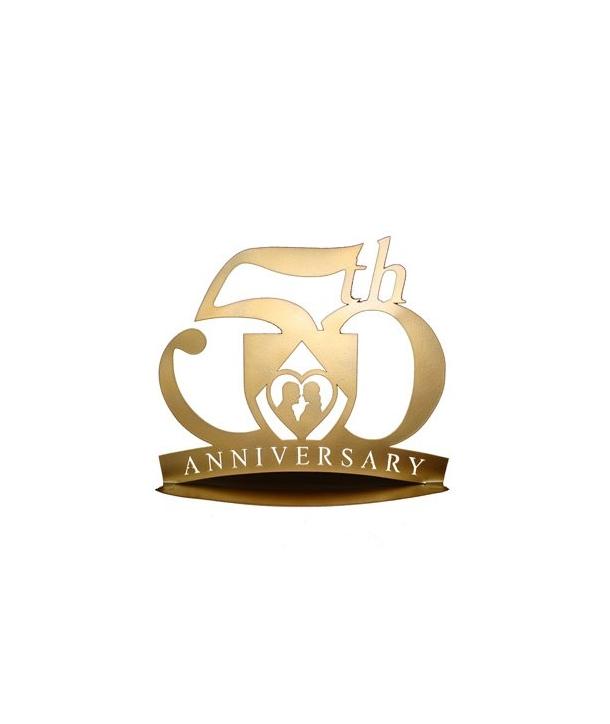 Pareja Bodas de Oro Copas 50 Aniversario