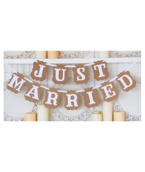 "Guirnalda de Boda ""Just Murried"""
