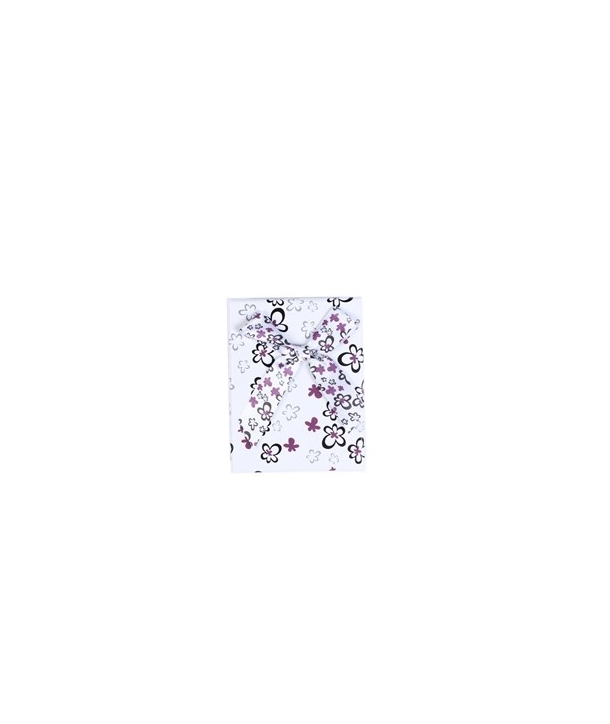 "Caja de Regalo ""Flores Purpura Lazo"""