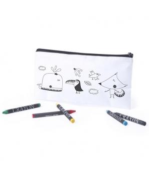 Estuche para Colorear con 5 Rotuladores Incluidos - Regalos Niños Prácticos Pintar
