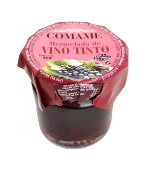 Mermelada Vino Tinto 40 Gr - Mermeladas para Detalles