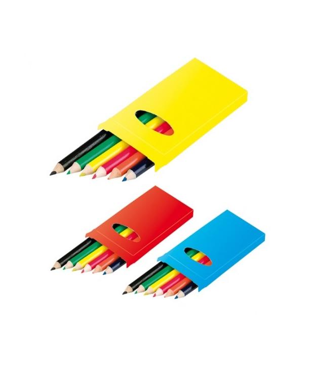 Lote de 30 Estuches para Colorear Infantiles Dinos con 5 Ceras Incluidas por cada estuche