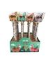 Lote 24 lápices de madera con borrador llamas
