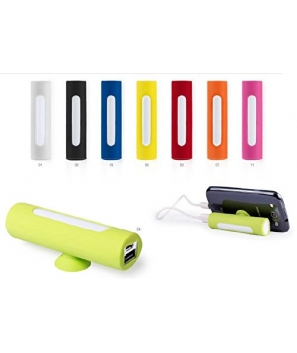 Lote de 20 Power Bank 2200 mAh con Cable Incluido en Estuche de regalo DESING