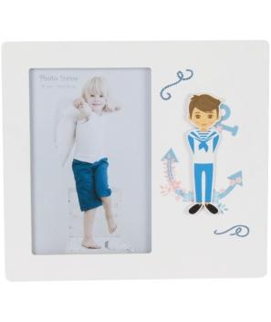 """Portafotos de Madera """"Comunión"""" Niño"""