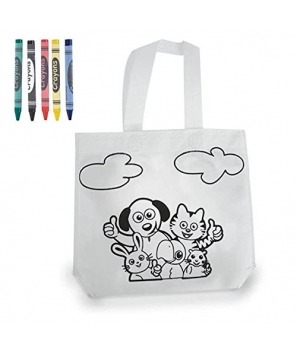 Lote de 20 Bolsas infantiles para colorear con Pinturas