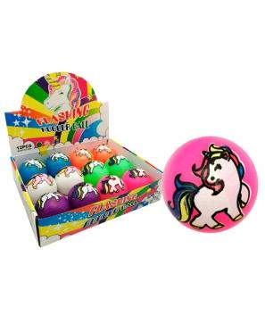 Pelota Unicornio Luces Sur - Detalles Cumpleaños infantiles niños