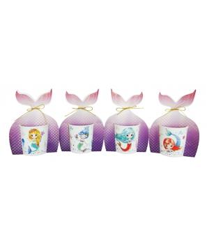 Taza Sirena Presentada en bolsa de regalo - Tazas Originales Comuniones