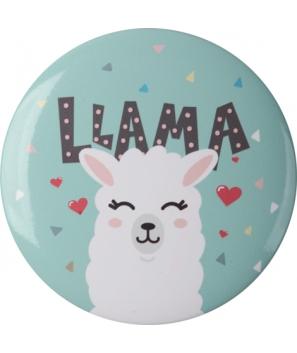 Espejo Chapa Llama