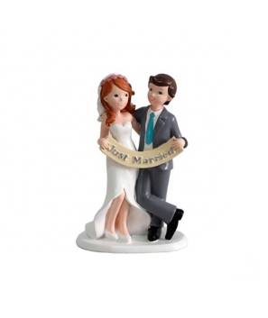 Figura Pastel Just Married