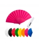 Lote de 25 Abanicos de Plástico de Colores PVC en caja individual de cartón